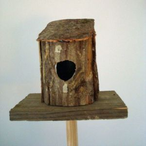 Wonderful Une Cabane à Oiseau à Fabriquer Soi Même   A Wood Bird House   A