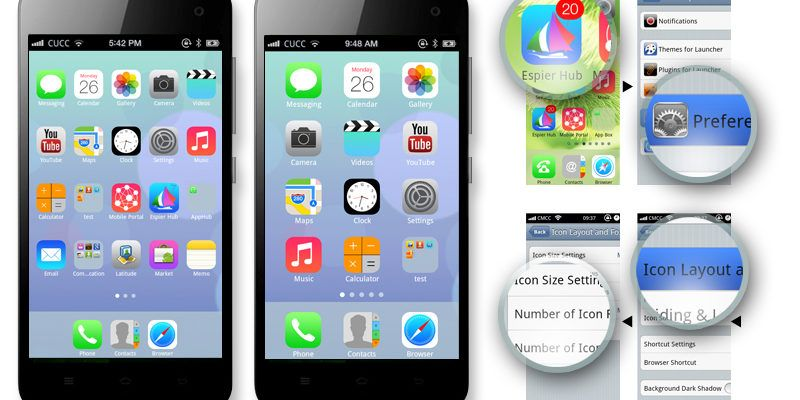 Iphone 6 Launcher For Android