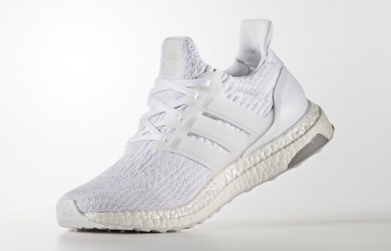 2016 Adidas Ultra Boost 3.0 Triple White