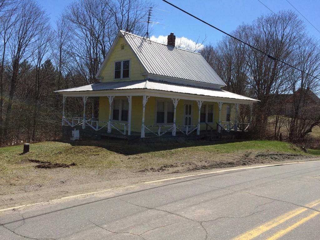 c.1900 Fixer Upper Maine Farmhouse For Sale w/Stream 37K