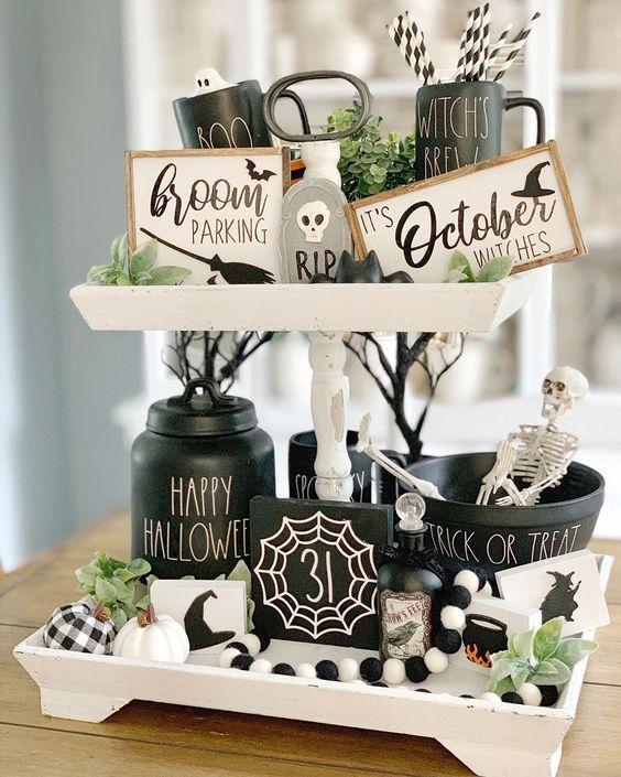 Über 100 günstige Halloween-Dekoideen zum Selbermachen für Ihre Gäste – Hi ….