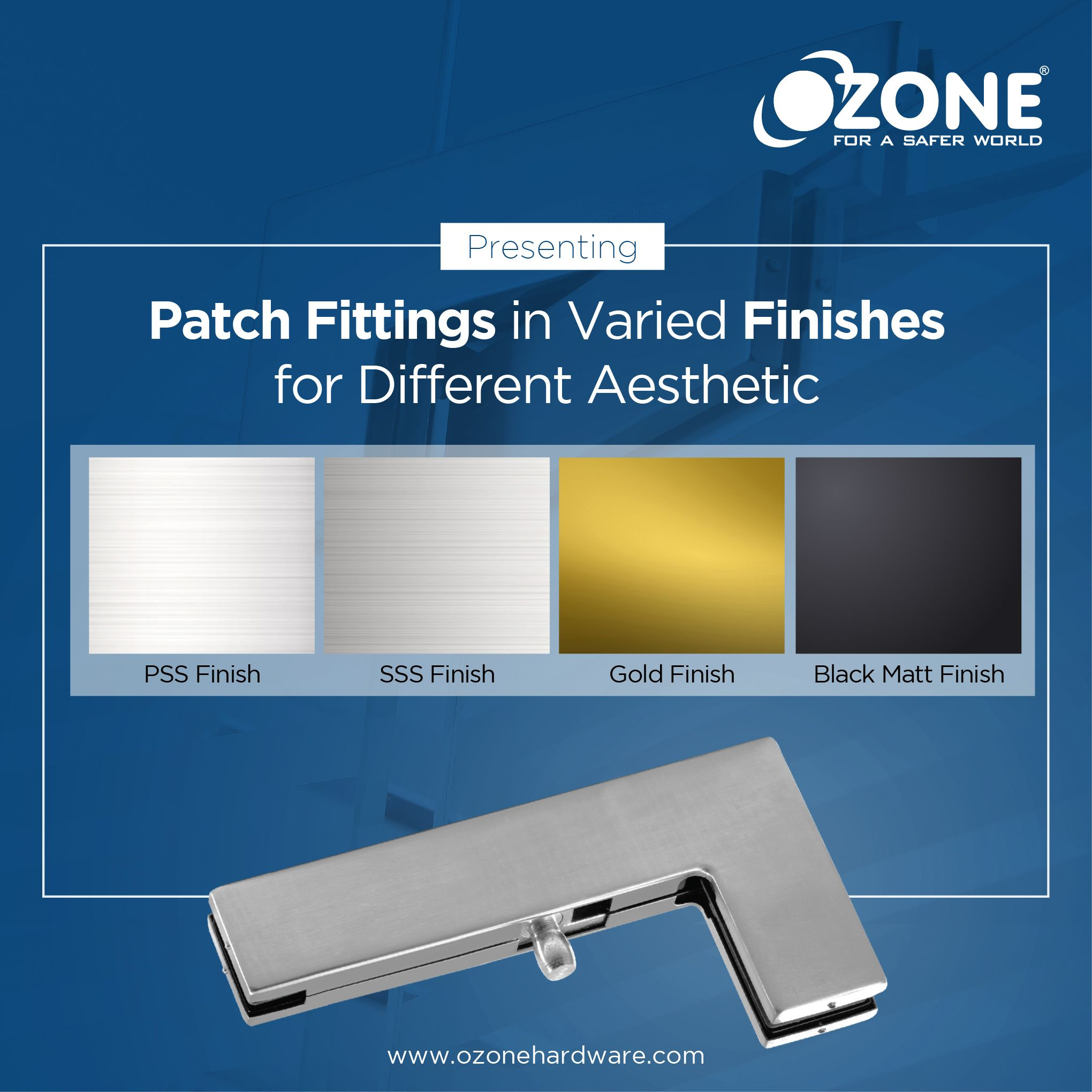 Pin by Ozone Hardware on Patch Fittings Commercial door