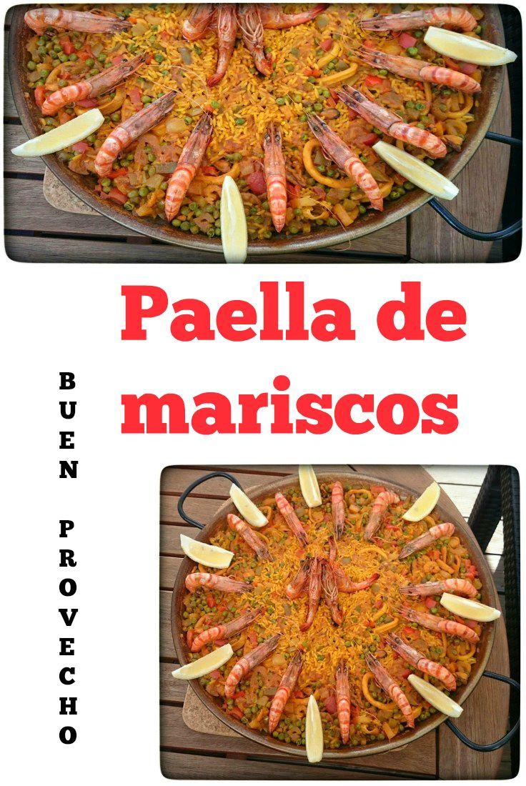 Paella De Mariscos Paella Mit Meeresfrüchten Rezept Food