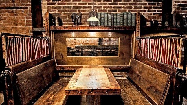 randolph bar / nyc / booth design