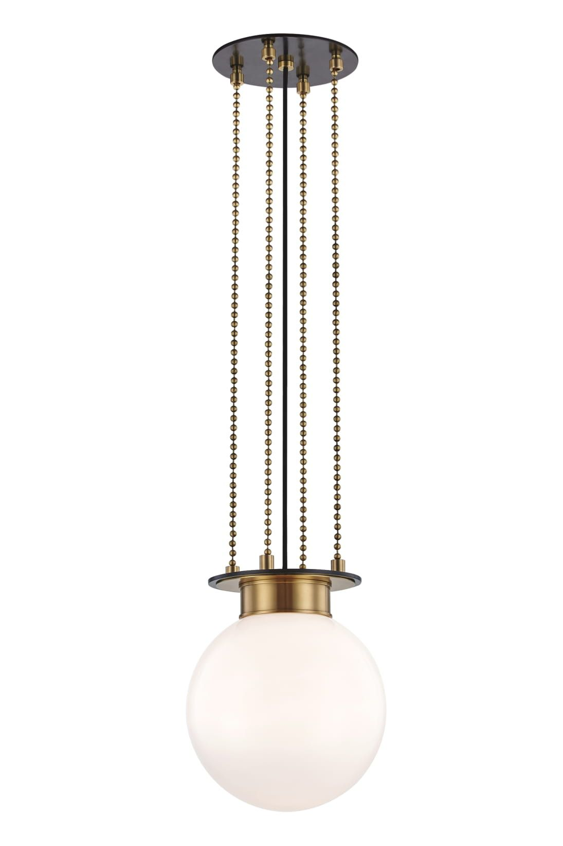 Gunther 1 Light Small Pendant Aob Hudson Valley Lighting