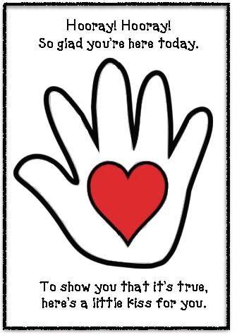 Literacy Packet For The Kissing Hand The Kissing Hand Kissing