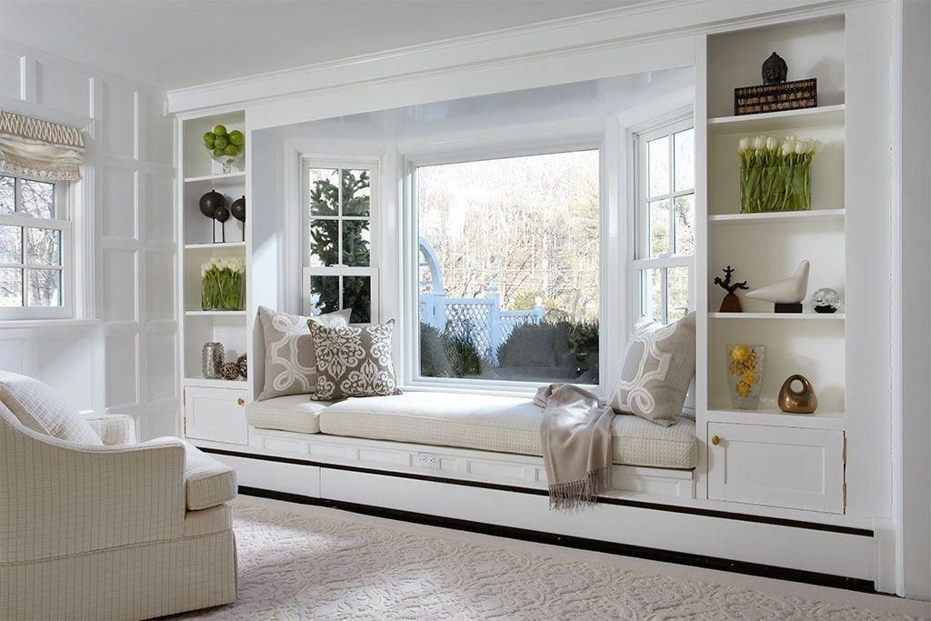 Bay window ideas that blend well with modern interior