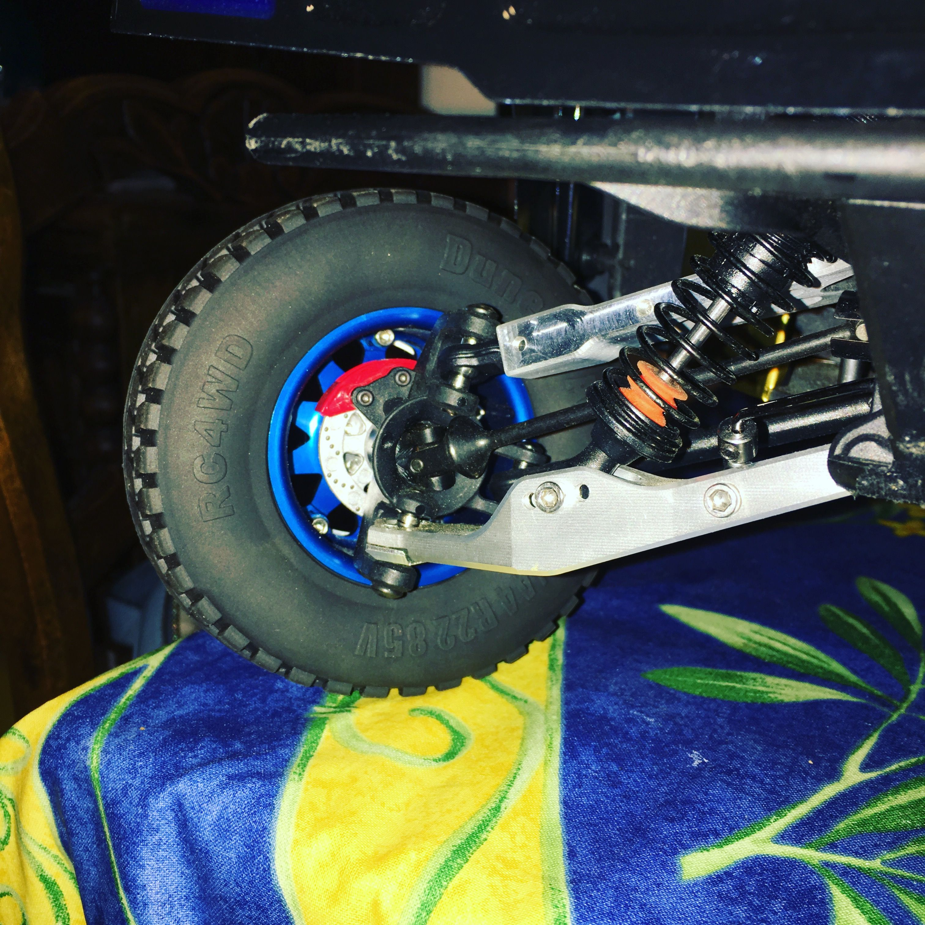 Losi Baja Rey with Metalconcepts upper and lower A Arms and rear axle 949