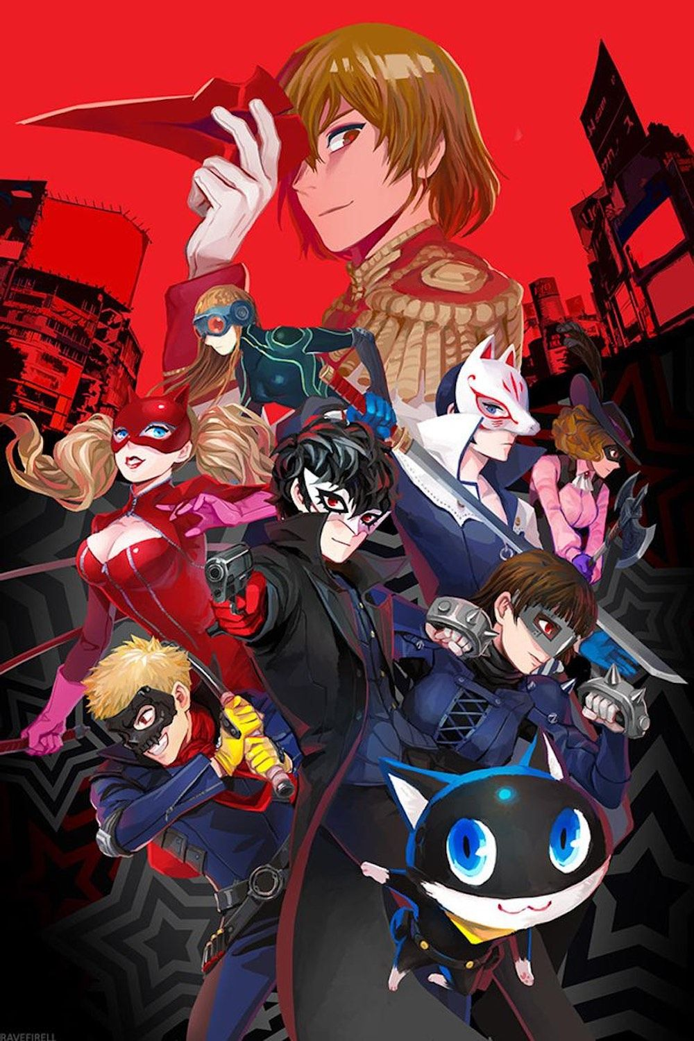 An Excellent Review of the Game Persona 5 Persona 5