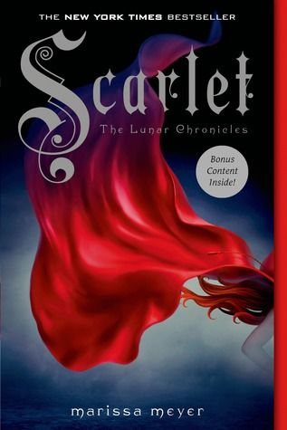 Scarlet by Marissa Meyers (Review) The Lunar Chronicles