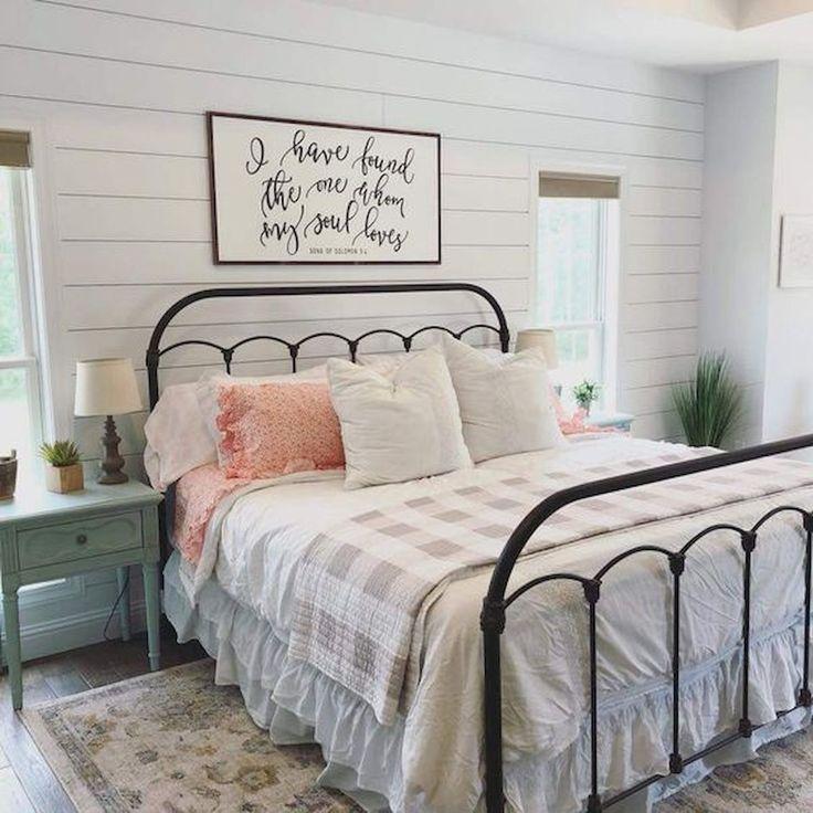 50 moderne Bauernhaus Schlafzimmer Dekor Ideen lässt Sie im Jahr 2019 schön träumen  #bauernhaus #dekor #ideen #lasst #moderne #schlafzimmer #schon #modernfarmhousebedroom