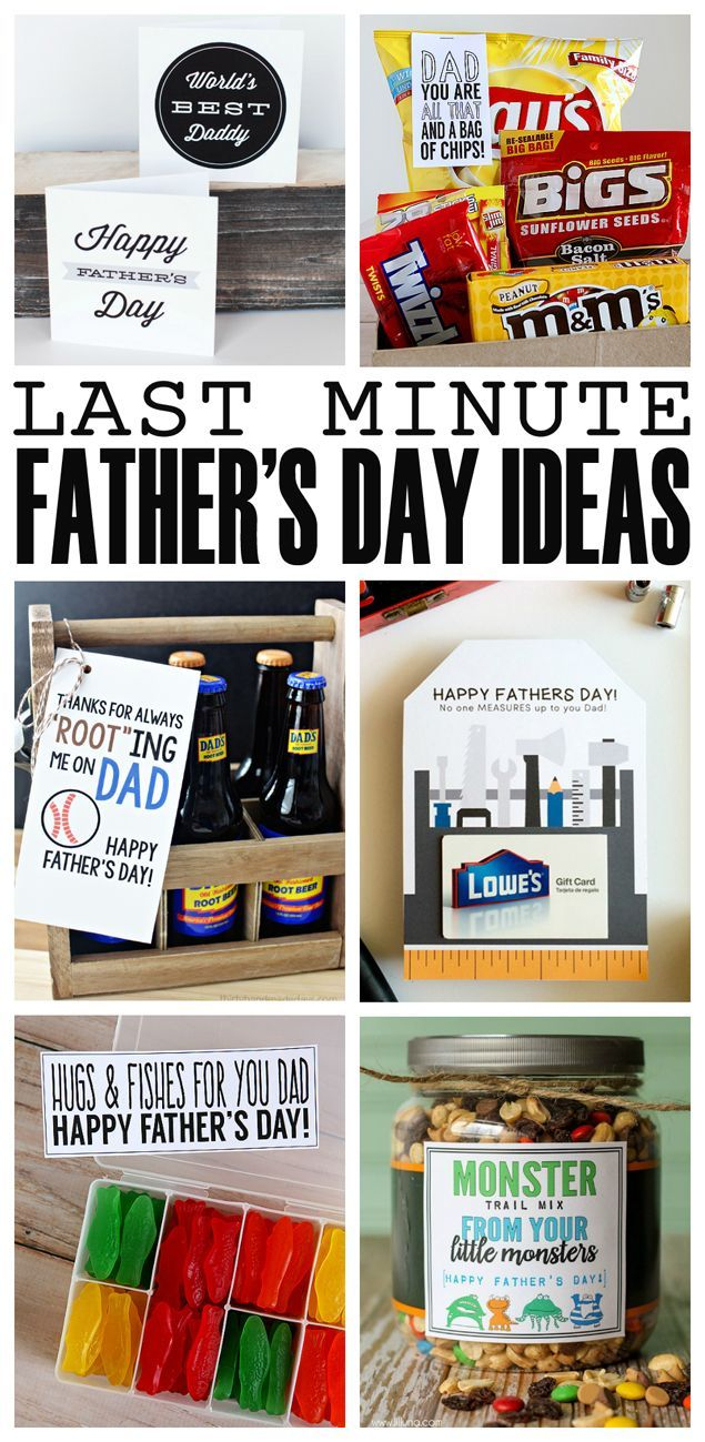 Last Minute Father S Day Ideas