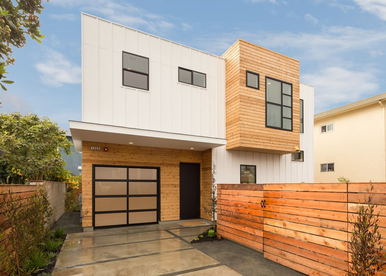 A Modest Box Covered Victorian Becomes A Modern Residence