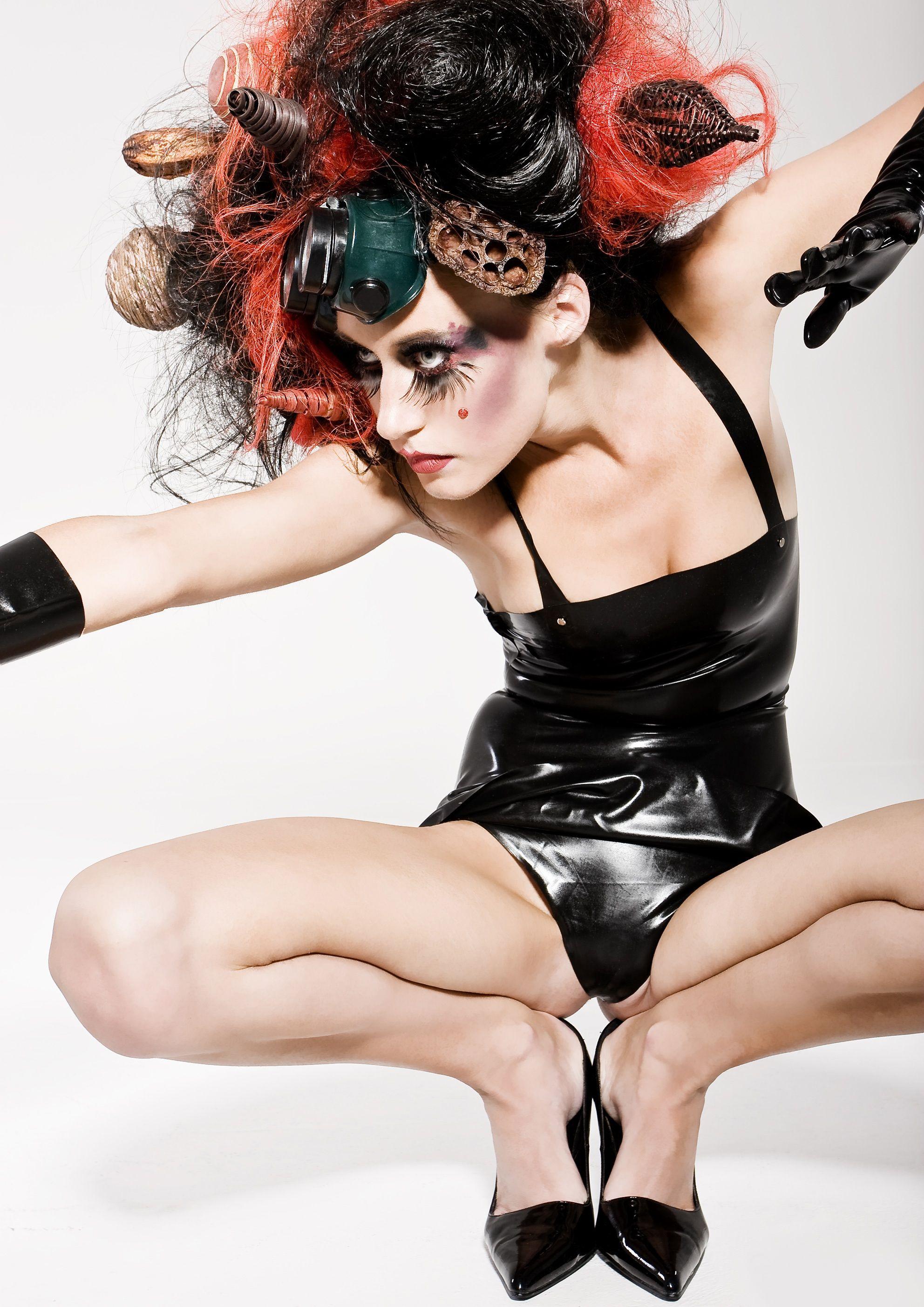 Pin by Laney Hitt on Never wear this Avant garde hair