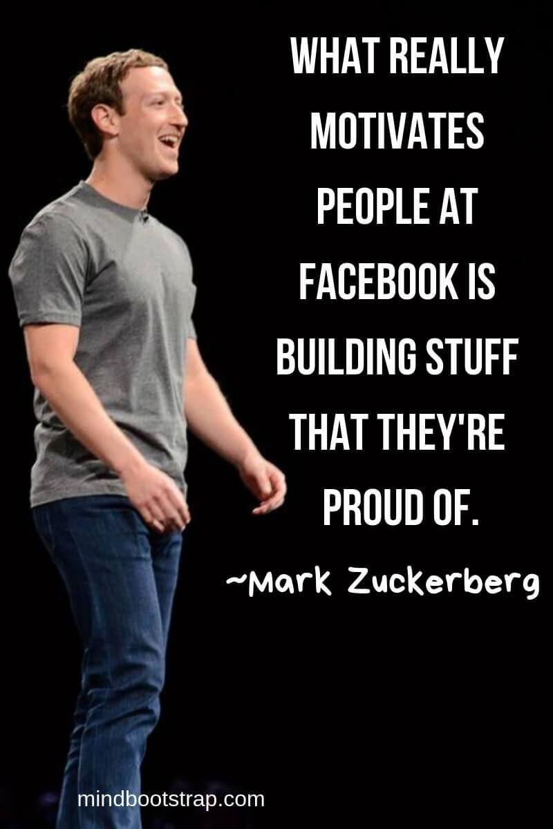 Social Media Quotes By Mark Zuckerberg