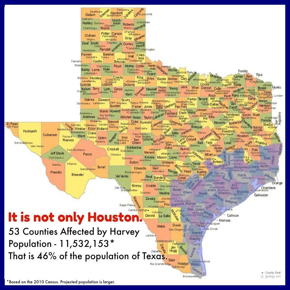 Map Of Texas Cities Only.Pin By Debbie Todd On Hurricane Harvey Texas County Texas