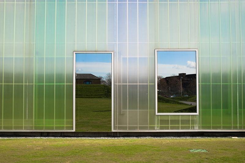Polycarbonate Window Panels : Laban dance centre polycarbonate paneling architecture