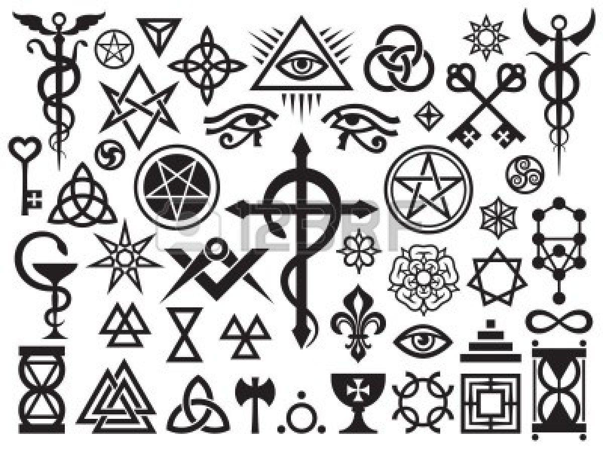 Mittelalterliche okkulten Zeichen (mit Bildern)   Okkult
