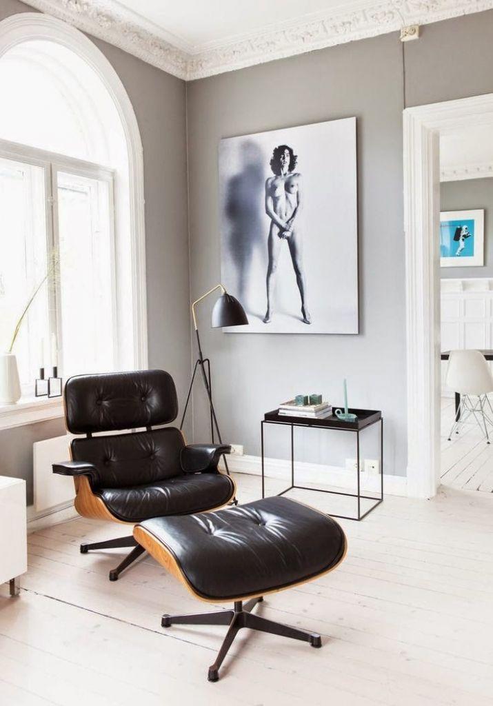 De Eames lounge chair door Charles en Ray Eames