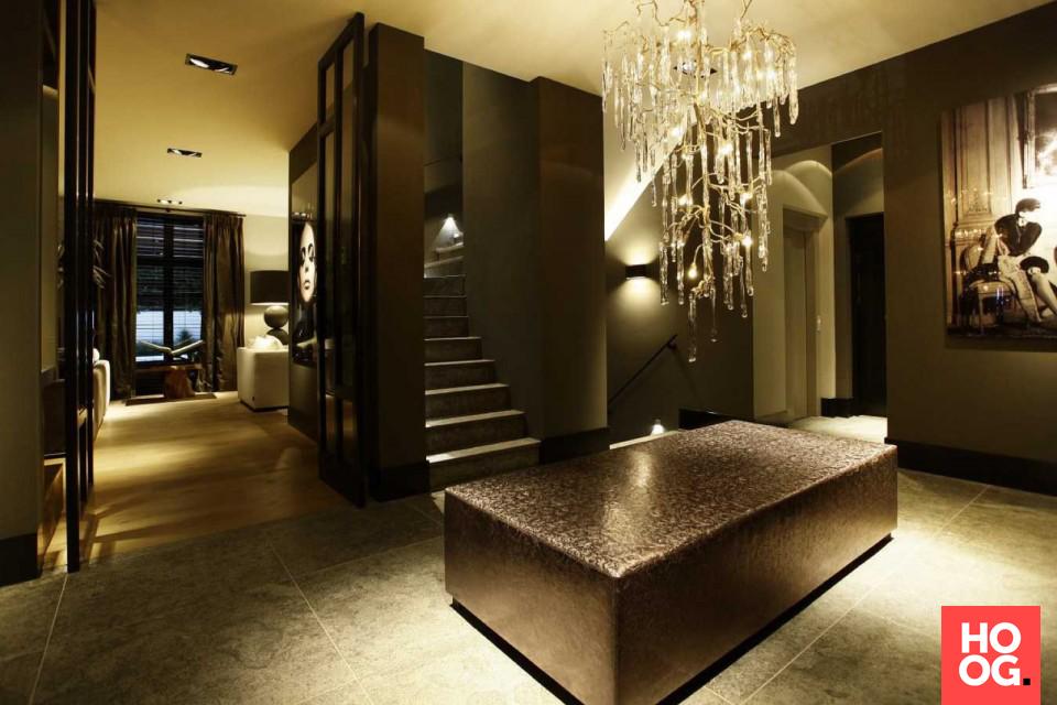 Van den berg interieurbouw droomvilla rotterdam luxe hal met