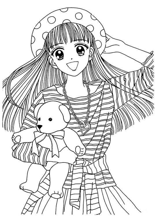 Marmalade019.jpg (540×756) | COLORING PAGES :) | Pinterest | Anime ...