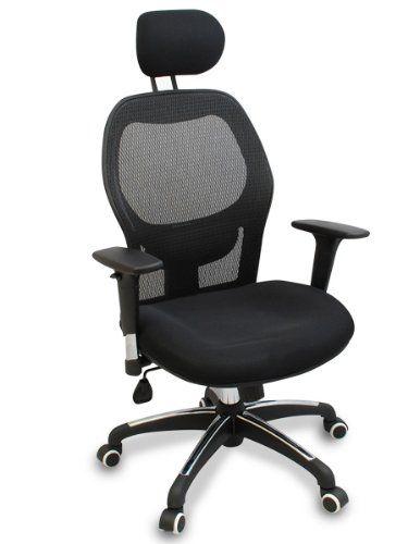 Walker Ergonomic Executive Mesh Office Chair Fully Adjustable Headrest Armrests Lumbar Support Mult Ergonomic Chair Ergonomic Office Chair Office Chair
