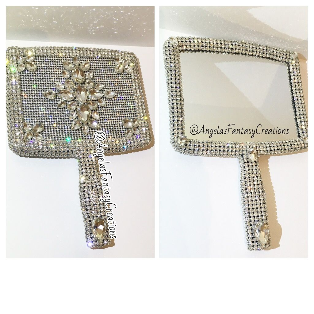 A Bling Hand Mirror Every Makeup Artist Should Have