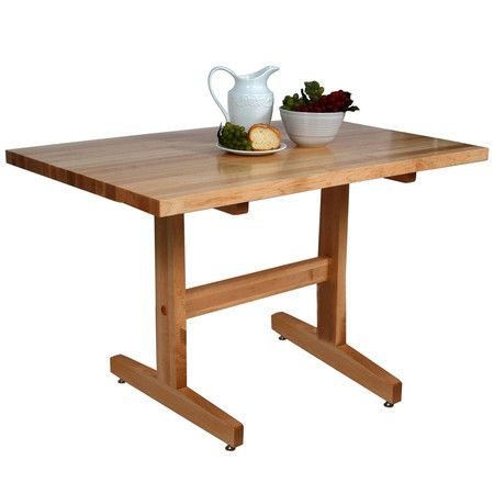 I pinned this Trestle Dining Table from the House*Tweaking event at Joss and Main!