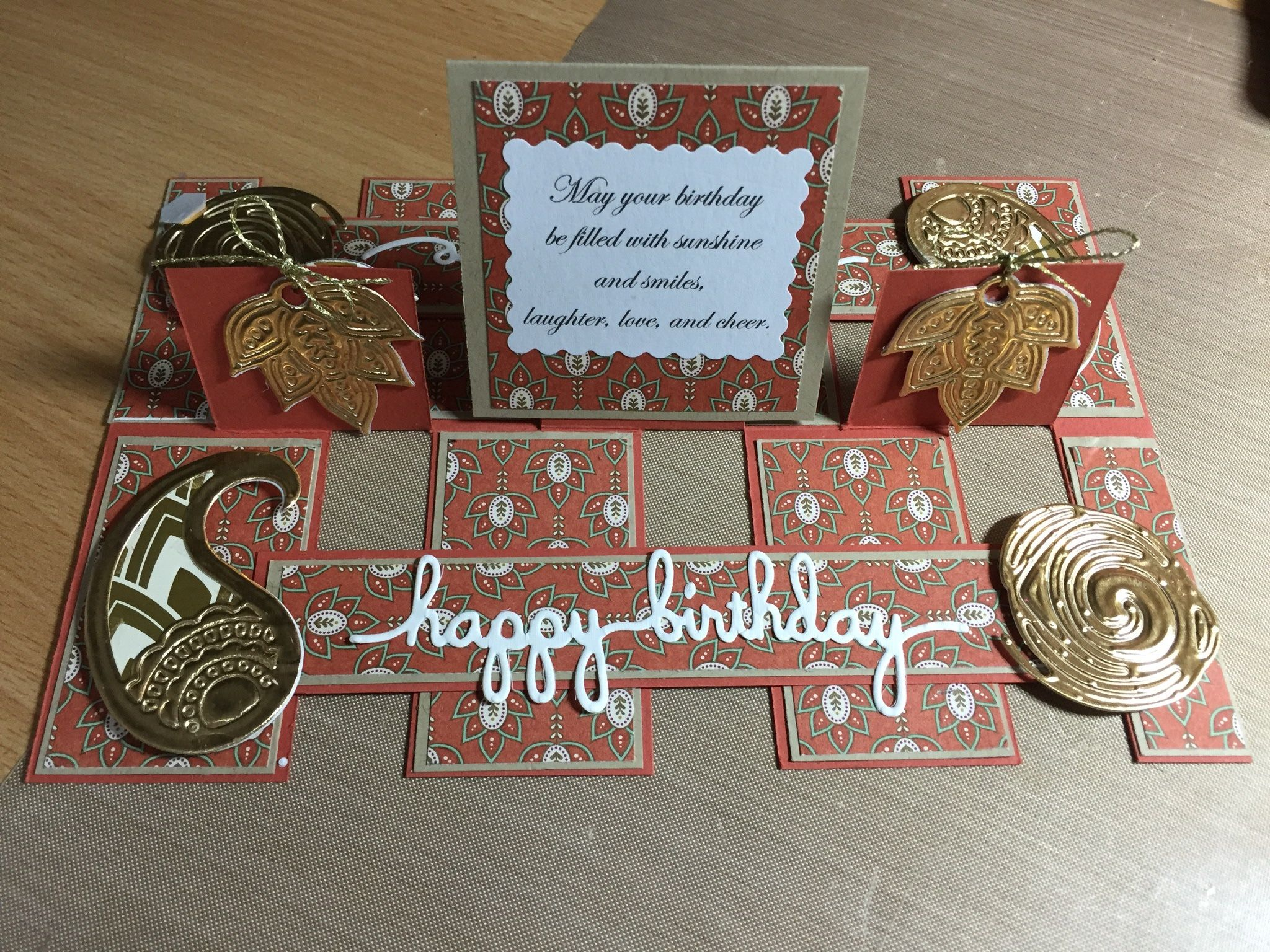 Triple Impossible Card Anniversary Cards Handmade Pop Up Cards Card Craft