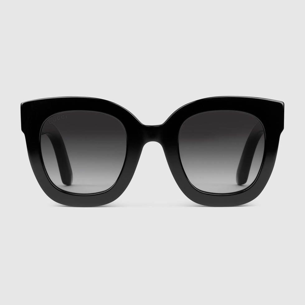 23e536109b2 Round-frame acetate sunglasses with star - Gucci Women s Sunglasses  491408J07401112