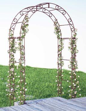 Arche De Jardin Arche Jardin Kiosque Jardin Petits Jardins