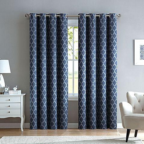 Grommet Top Window Curtain Panel