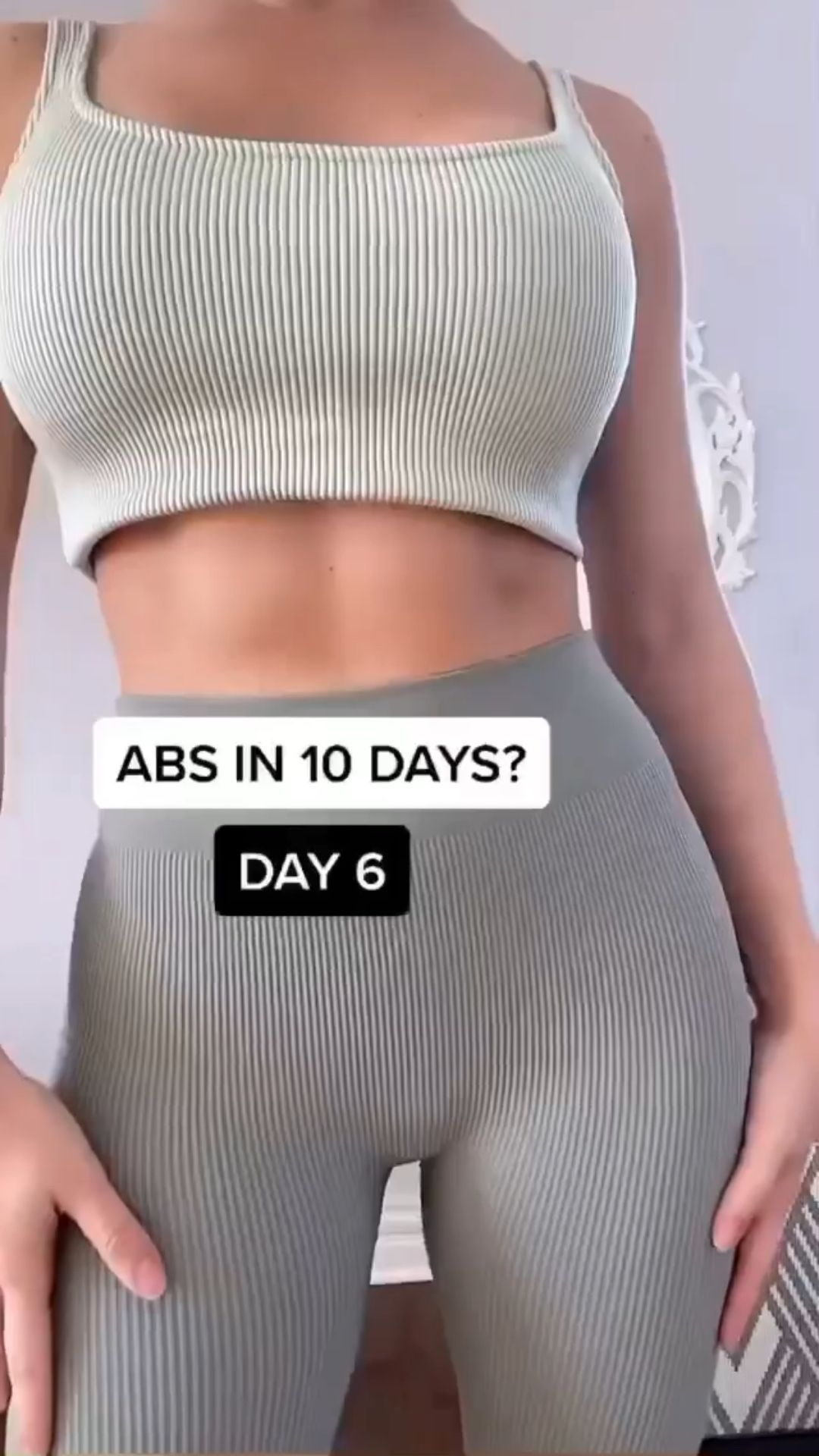 Abs  workout tutorial : exercise routine at home