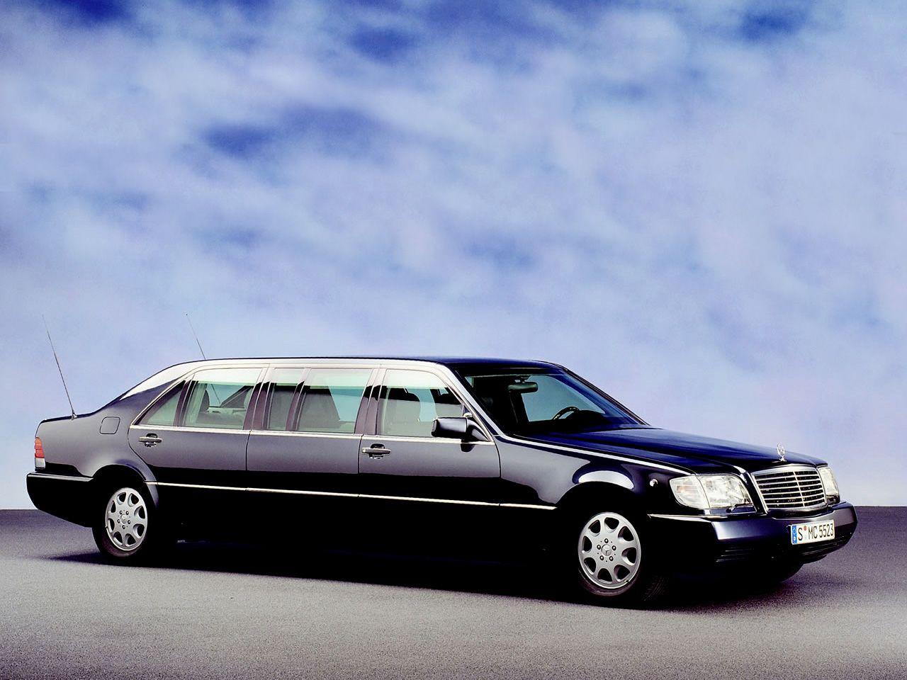 1998 Mercedes Benz S600 Pullman Limousine W140 Mercedes Epc
