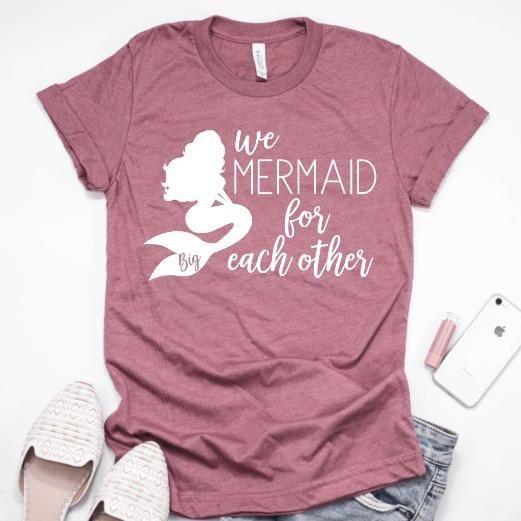 We Mermaid For Each Other™ #biglittlereveal