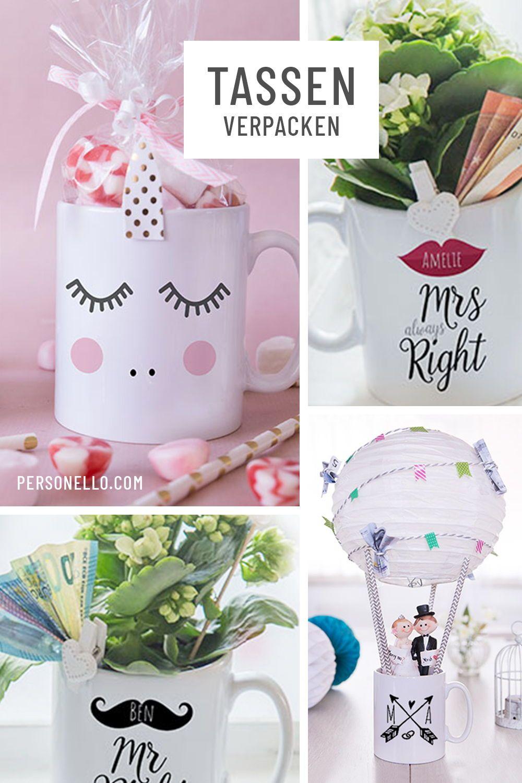 Einzigartige Geschenkidee Tassen Mit Zahlreichen Motiven Und Tollen Collagen Selbst Desig Geschenke Diy Geschenke Selber Machen Und Diy Hochzeitsgeschenk
