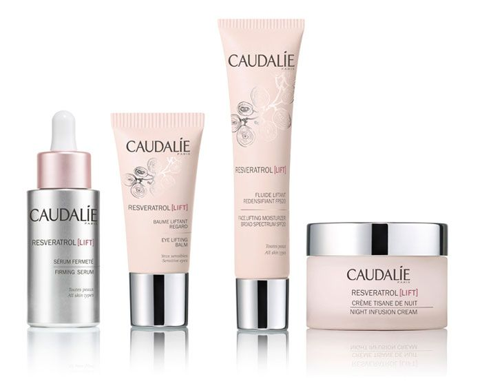 Wine Based Resveratrol Skin Care Line By Caudalie Caudalie