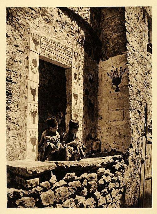 Young Palestiniens, Jerusalem, 1920