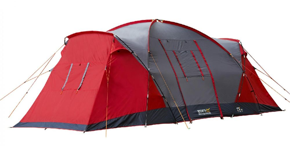 Cheap Regatta Great Outdoors Atlin 6 Man Vis-A-Vis Tent deals week  sc 1 st  Pinterest & ? REGATTA Atlin 6 Tent £169.99 | CWS ? Tents | Pinterest | Tents ...