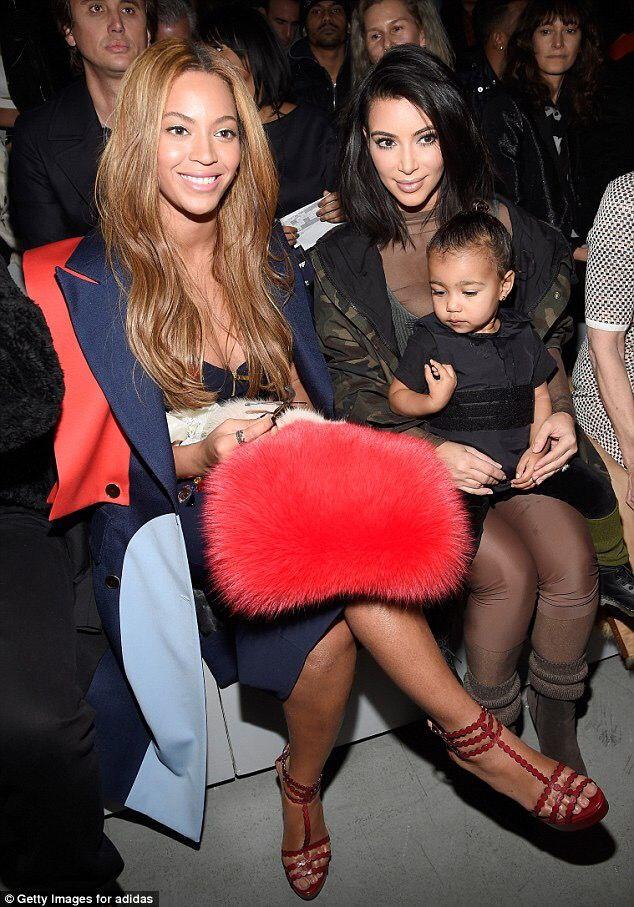 Beyonce And North West Kim Kardashian And North Kanye West Adidas Kanye West Adidas Yeezy