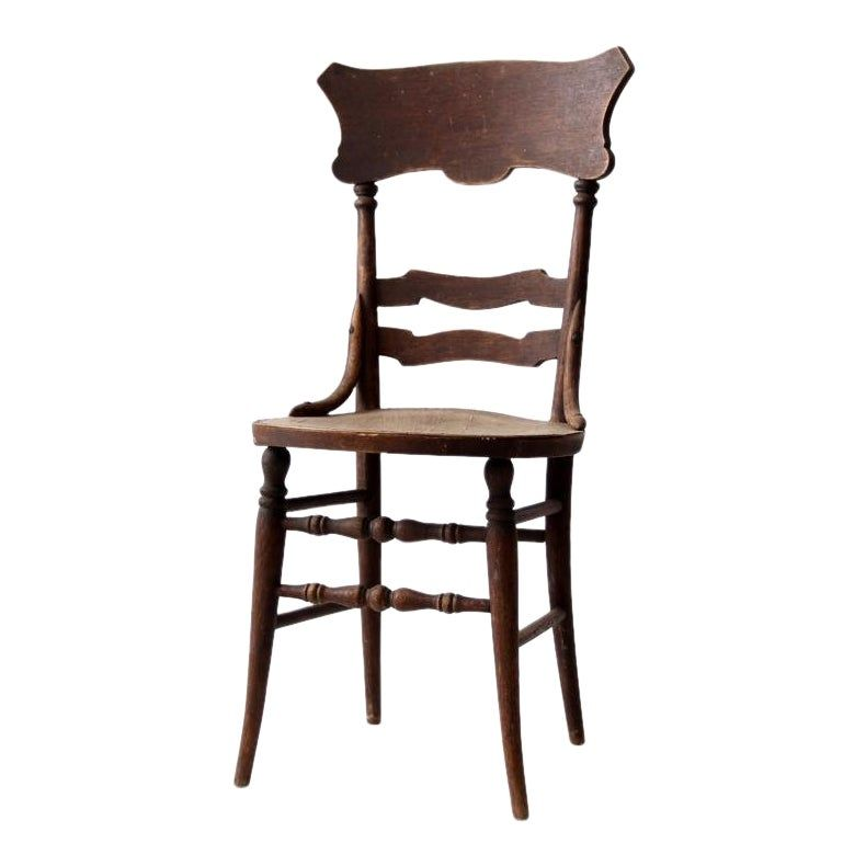Antique Wooden Accent Chair In 2020 Accent Chairs Chair How To Antique Wood