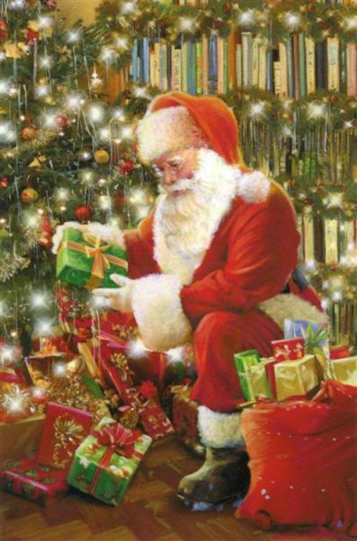 Santa ‿✿⁀° Vianočné Pozdravy f86716fce5