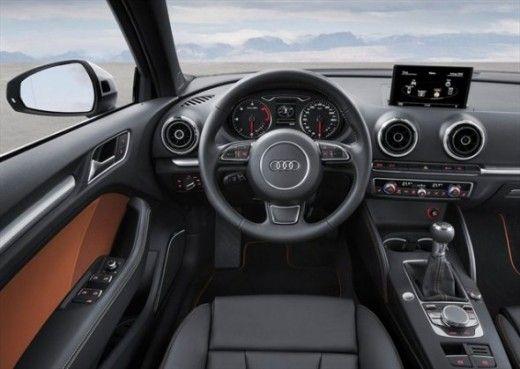 Audi A3 Sedan Modern Minimalistic Dashboard Big Like Audi A3