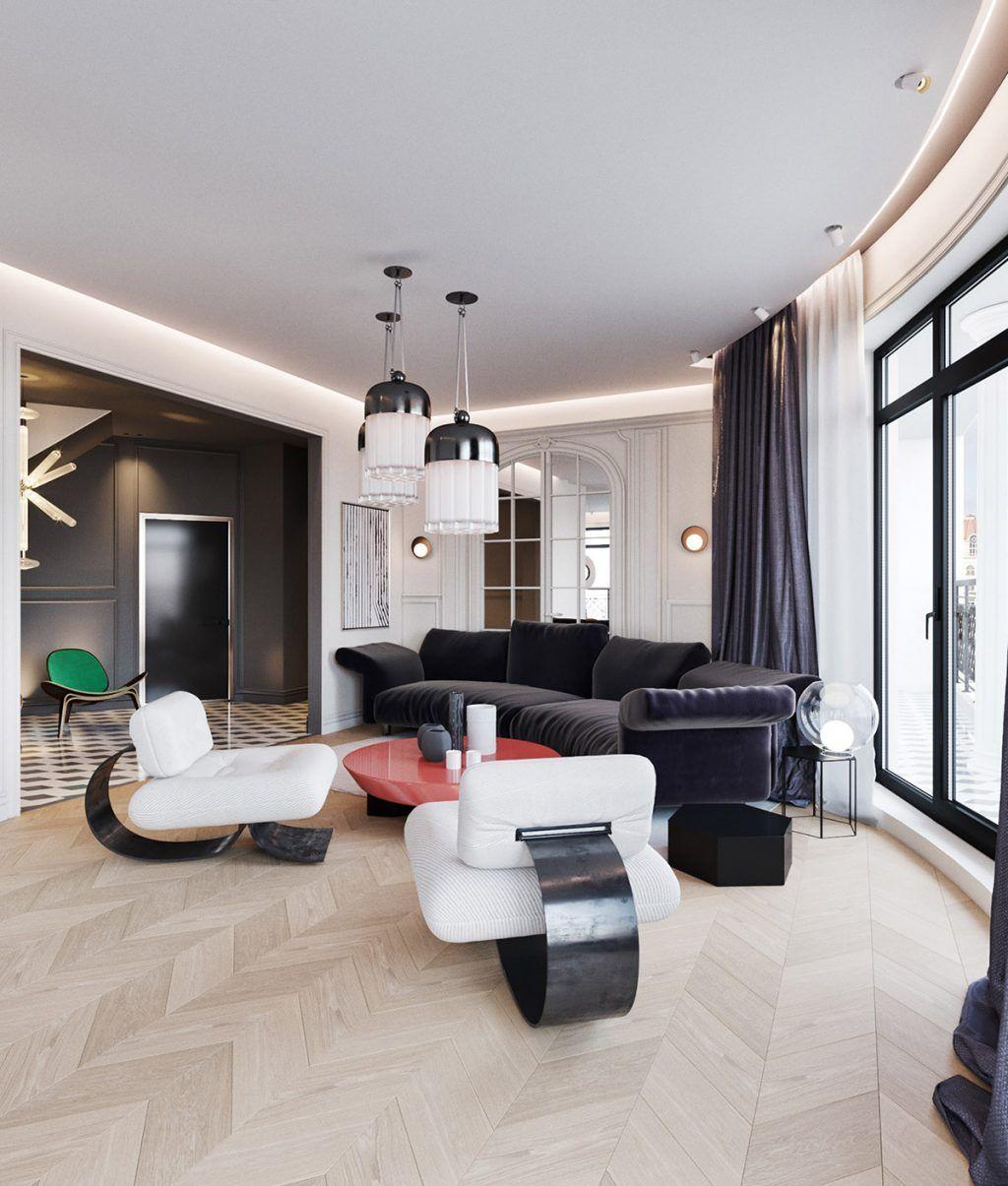 One Space Two Design Options Interior Design Decor Interior