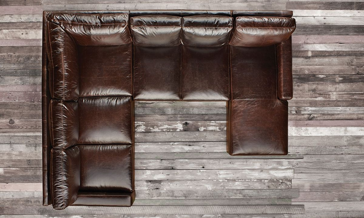 Awesome Mayfair Deluxe Brompton Leather Sectional Haynes Furniture Pdpeps Interior Chair Design Pdpepsorg