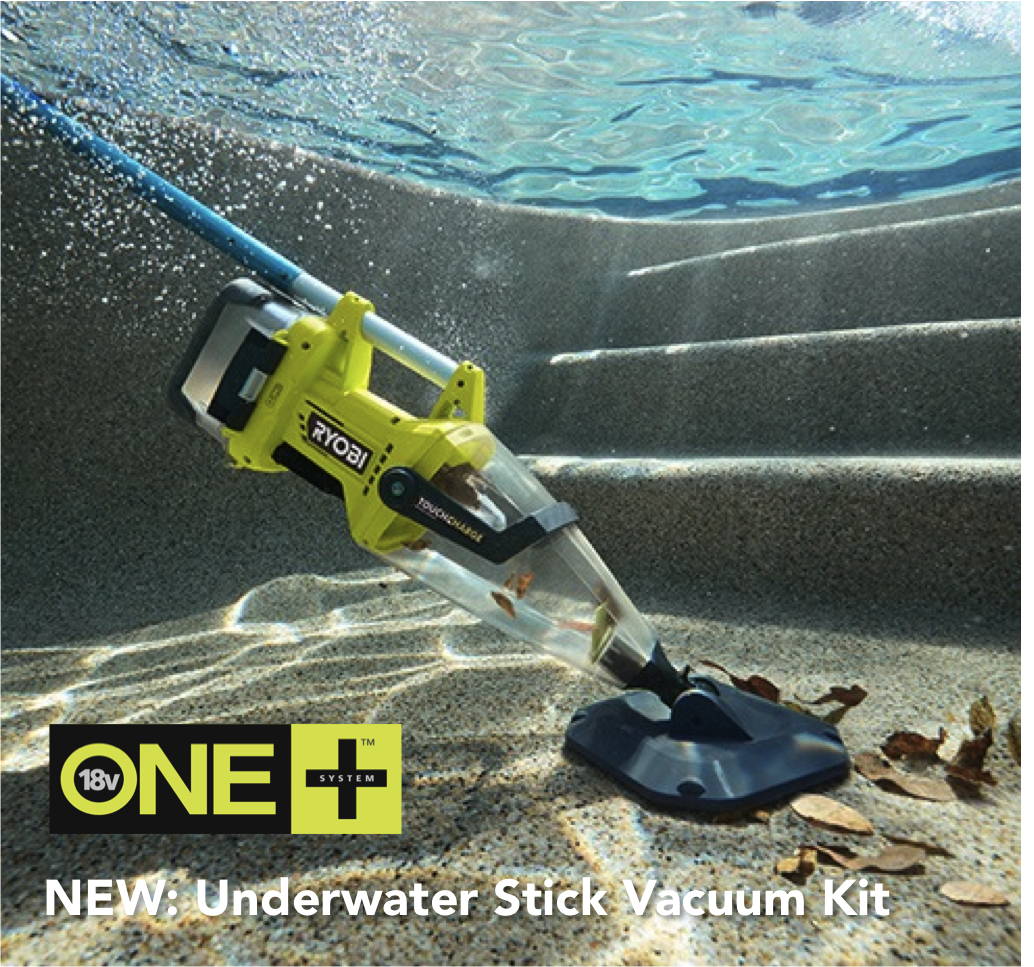 Got A Pool This Is Your Tool Check It Out Stick Vacuum Ryobi Ryobi Tools
