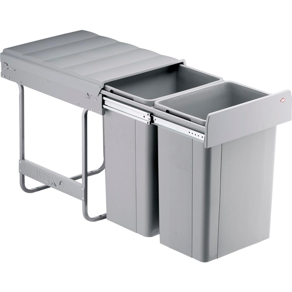 Beépíthető Hulladékgyűjtő Bio Double 40 Dt 26 338 X 465 X 485 Mm Kitchen Bin Fitted Furniture Kitchen And Bath