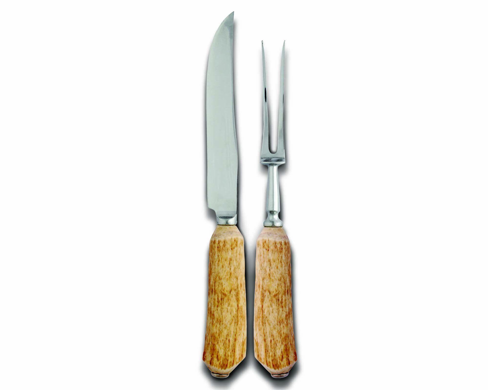 Natural Antler Carving Set Large Size Products Pinterest