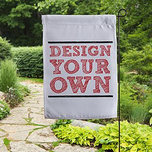 Design Your Own Personalized Garden Flag 15888 Shopping Cart