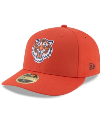 445f4ef011f88 New Era Detroit Tigers Low Profile Batting Practice Pro Lite 59FIFTY Fitted  Cap - Orange 7 1 4